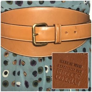 Bergdorf Goodman Genuine Leather Wrap Belt